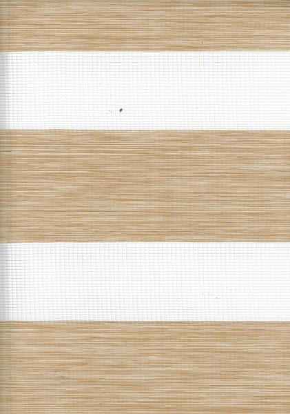 Art. 2127-0104 Maßanfertigung Doppel Rollo Zebra Oregon Beige