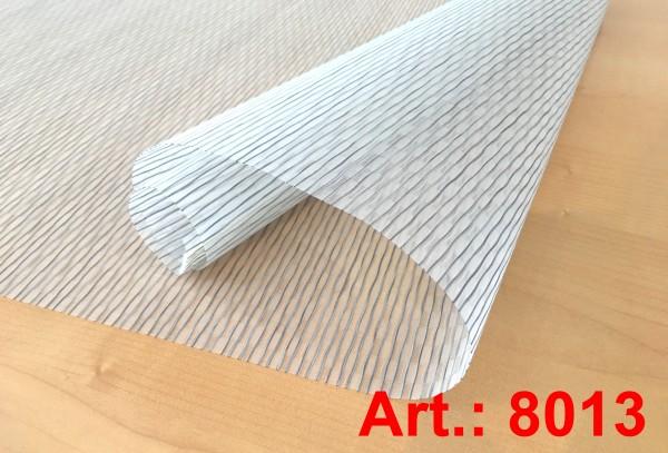 Art: 8013 Flächenvorhänge 50x250cm Schiebegardine Vorhang transparent Kürzbar