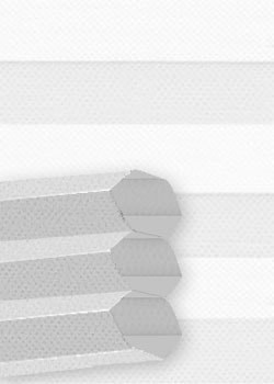 Wabenplissee Grau B0052 Maßanfertigung