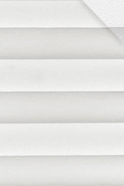 Plissee Weiß B0011