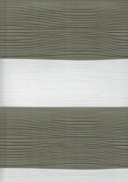 Art. 2502-809 Maßanfertigung Doppel Rollo Zebra Grau
