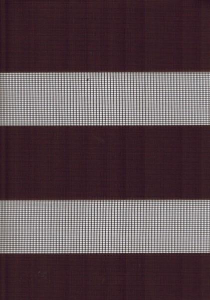 Art. 1400-88 Maßanfertigung Doppel Rollo Zebra Dunkelbraun