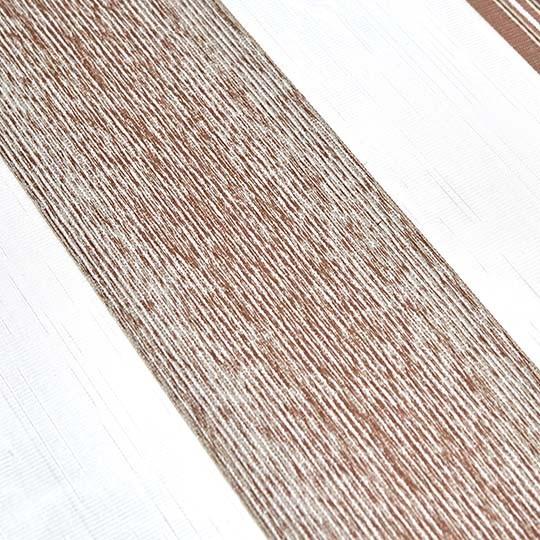Duo Rollo Doppelrollo 26015-V08 Weiß Creme Braun mit Streifen