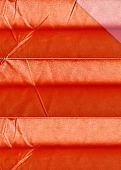 Plissee Orange B0111 Maßanfertigung