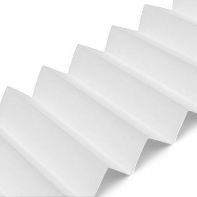 Plissee B0120 Weiß Maßanfertigung