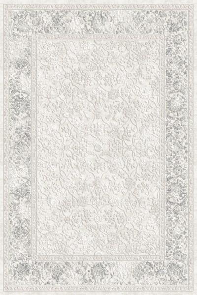 Flora Teppich Aysil Farbe: Grau 4686A
