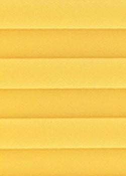 Velux DF20 Maßanfertigung Plissee B0004 Gelb