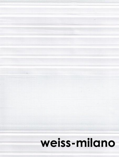 Art.: 10200 Maßanfertigung Duorollo Boncuklu Zebra Perde Doppelrollo Farbe:weiss-milano