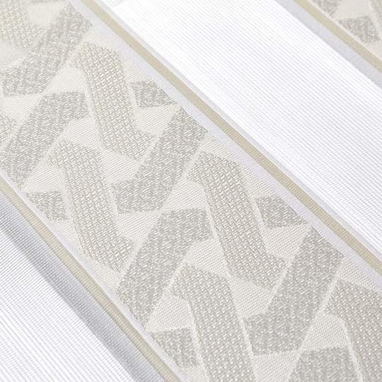 Duo Rollo Doppelrollo 2230-V01 Creme Weiß mit Muster