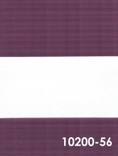 Art.: 10200 Maßanfertigung Duorollo Boncuklu Zebra Perde Doppelrollo Farbe:56