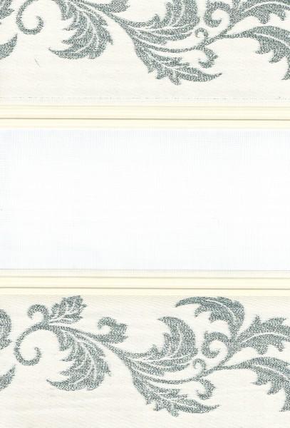 Art. 1614-01 Maßanfertigung Duorollo Boncuklu Zebra Perde Doppelrollo Farbe:01