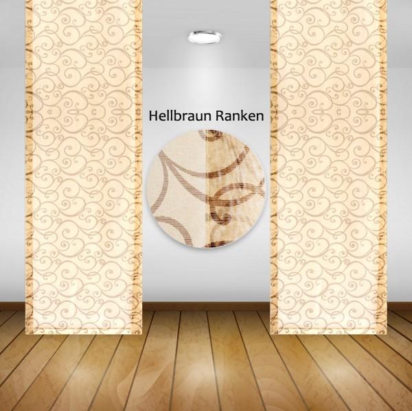 Waschbare Flächenvorhänge Schiebegardine Gardine Vorhang 50x245cm Farbe: 11