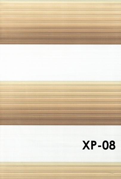 Art.: XP Maßanfertigung Duorollo Boncuklu Zebra Perde Doppelrollo Farbe:08