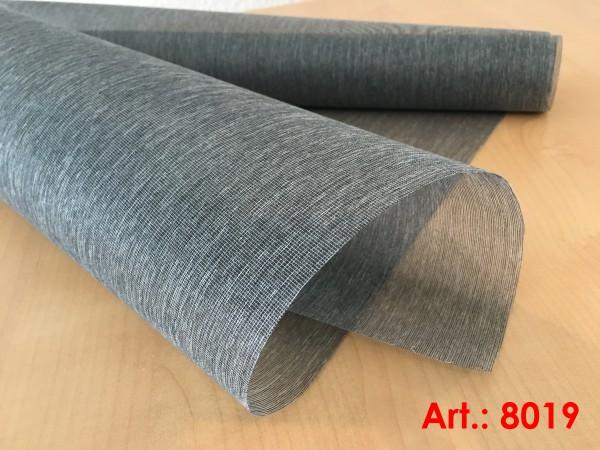 Art: 8019 Flächenvorhänge 50x250cm Schiebegardine Vorhang transparent Kürzbar