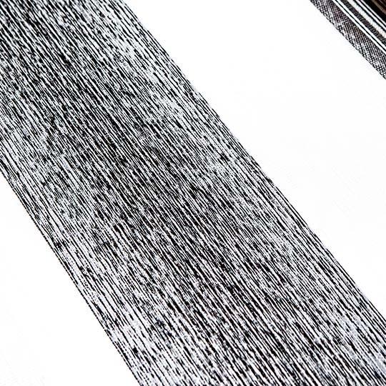 Duo Rollo Doppelrollo 26015-V09 Weiß Dunkelgrau mit Streifen