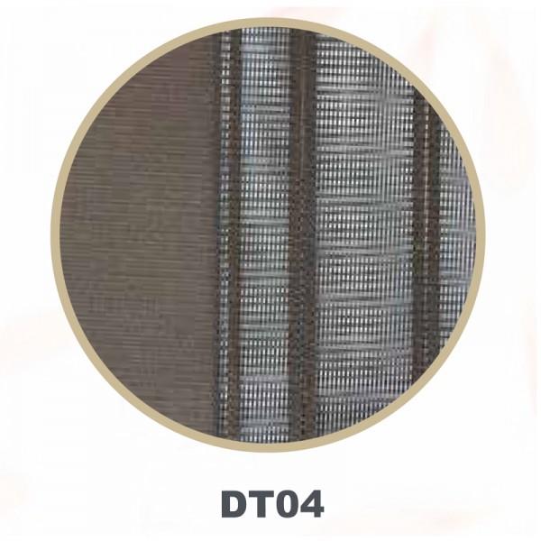 Vertikal Lamellenvorhang Tül Dikey Storperde braun DT-04