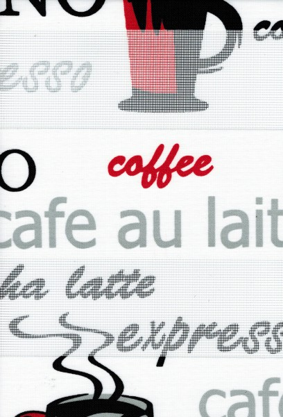 Art. siyah Maßanfertigung Duorollo Cappuccino Kaffee Latte Boncuklu Zebra Perde Doppelrollo