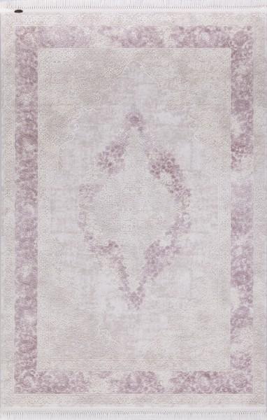 Flora Teppich Aysil Farbe: Pink 1716A