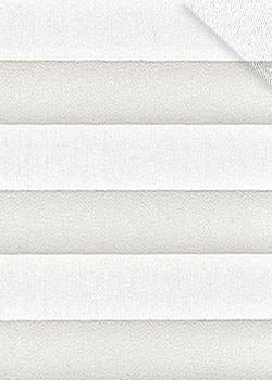 Plissee Weiß B0040