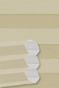 Stoff: B0019 Maßanfertigung Wabenplissee Dachfenster DF20 Comfort für Velux Fenster