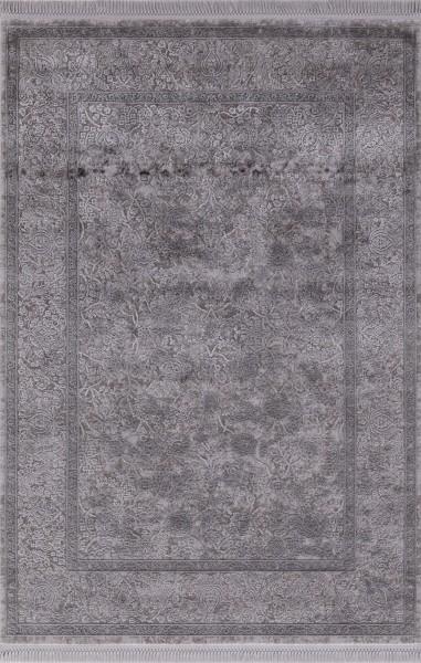 Flora Teppich Aysil Farbe: Dunkel Grau 4686A