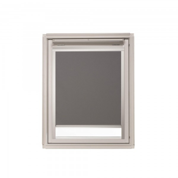 Dachfensterrollo grau für VELUX GGL, GPL, GHL S06