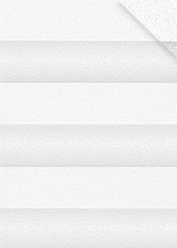 Plissee Weiß B0030