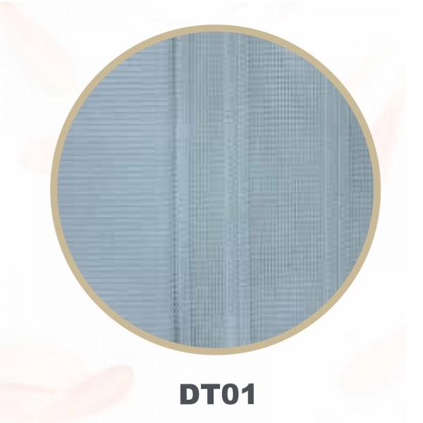 Vertikal Lamellenvorhang Tül Dikey Storperde weiß DT-01
