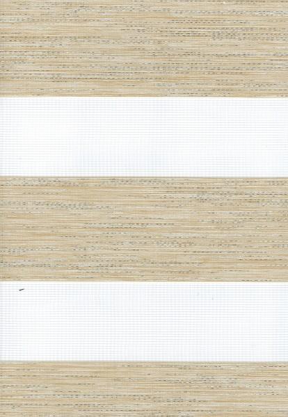 Art. 431-101 Maßanfertigung Duorollo Boncuklu Zebra Perde Doppelrollo Farbe: Beige