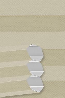 Stoff: B0020 Maßanfertigung Wabenplissee Dachfenster DF20 Comfort für Velux Fenster