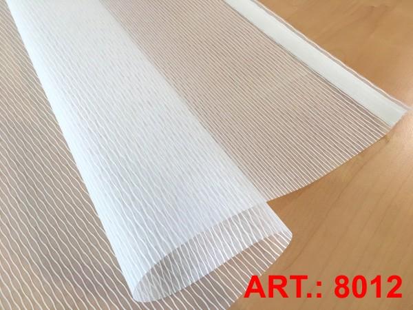Art: 8012 Flächenvorhänge 50x250cm Schiebegardine Vorhang transparent Kürzbar