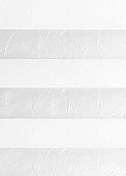 Plissee Weiß B0022