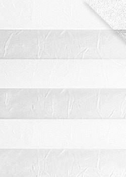 Plissee Weiß B0025
