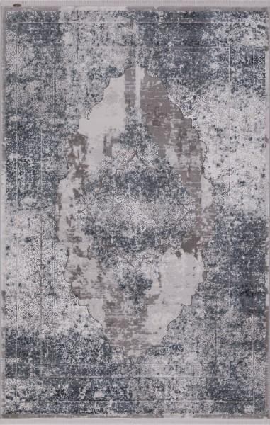 Flora Teppich Krizantem Farbe: Blau 1677A