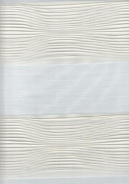 Art. 2502-801 Maßanfertigung Doppel Rollo Zebra weiß