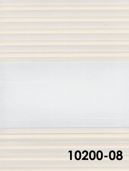 Art.: 10200 Maßanfertigung Duorollo Boncuklu Zebra Perde Doppelrollo Farbe:08