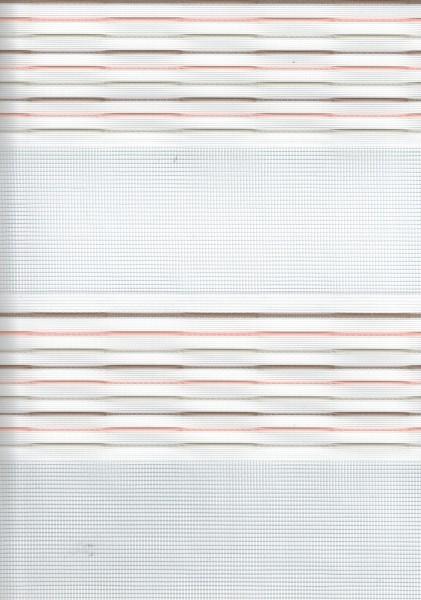 Art. 93983-05 Maßanfertigung Doppel Rollo Zebra Streifen Rosa