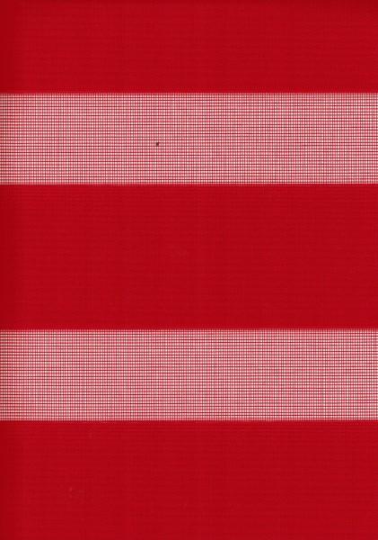 Art. 1400-89 Maßanfertigung Doppel Rollo Zebra Rot