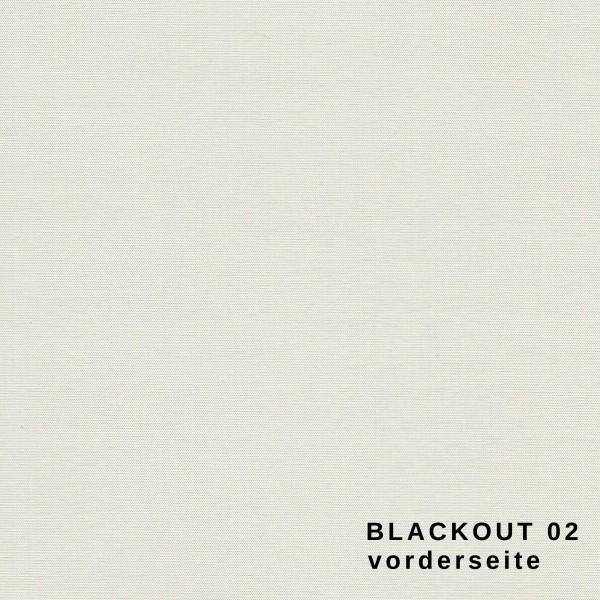 Maßanfertigung Seitenzug Rollo Blackout Thermorollo 100% Verdunklungsrollo Farbe: 02