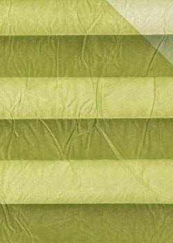 Plissee Hellgrün B0109 Maßanfertigung