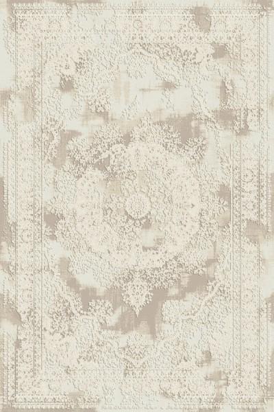 Flora Teppich Rhodos Farbe: Beige 6682