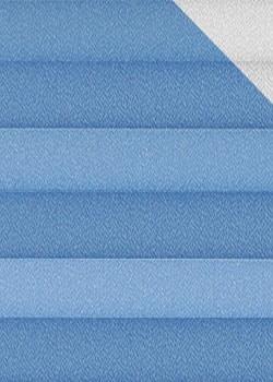 Plissee Blau B0088 Maßanfertigung