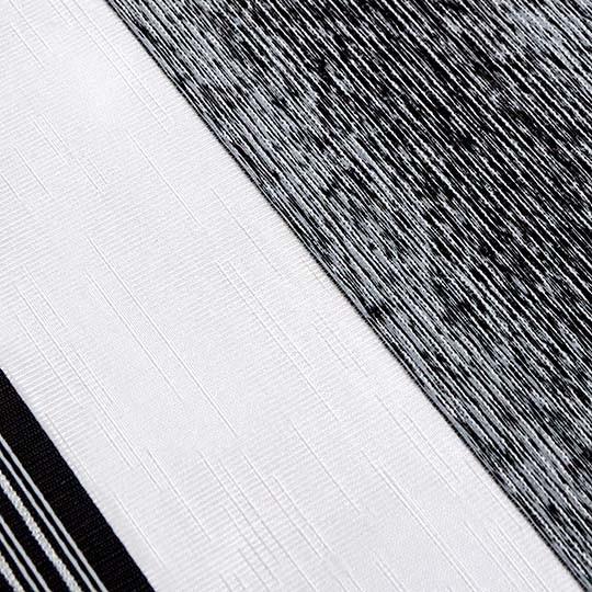 Duo Rollo Doppelrollo 1831 Dunkelgrau Weiß mit Streifen