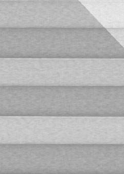 Plissee Grau B0063 Maßanfertigung