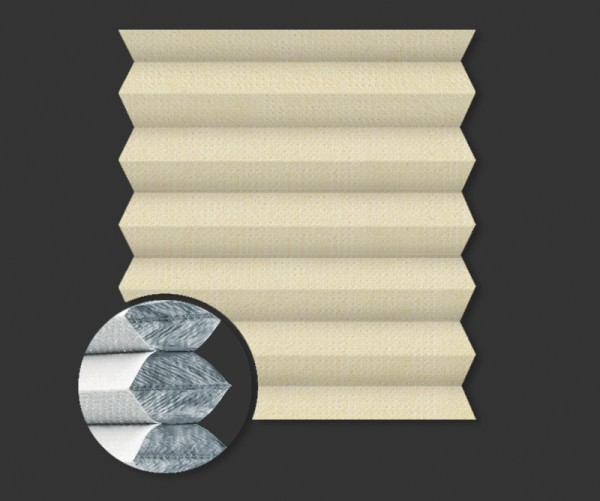 Wabenplissee Verdunkelung PALMA BO 5150