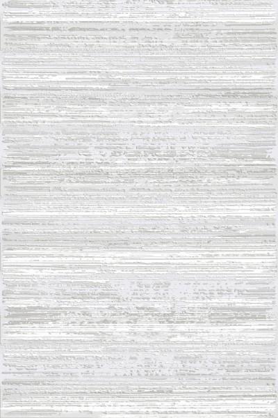 Flora Teppich Rhodos Farbe: Grau 6584