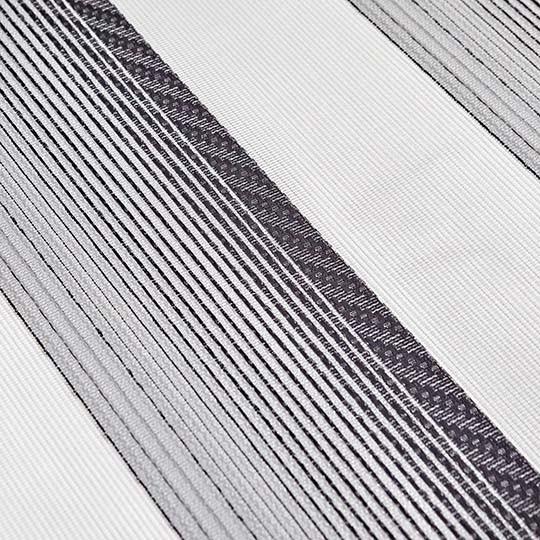 Duo Rollo Doppelrollo AT-3019-V09 Grau Weiß Silber mit Streifen