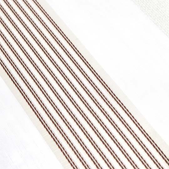 Duo Rollo Doppelrollo 26015-V03 Weiß Creme Braun mit Streifen