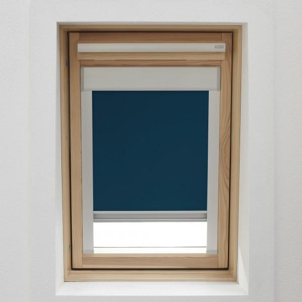 Dachfensterrollo dunkelbraun für VELUX GGL, GPL, GHL U04