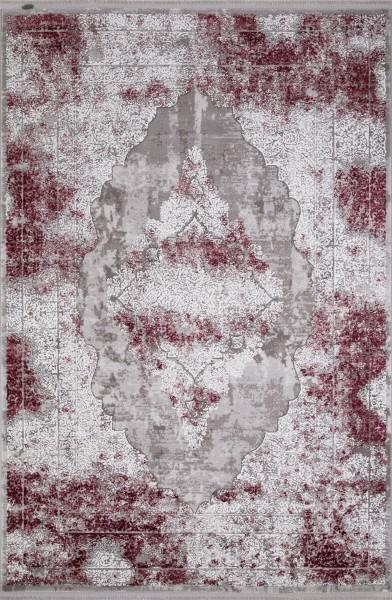 Flora Teppich Krizantem Farbe: Rot 1677A